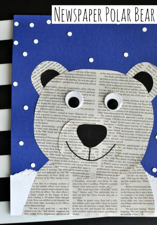 42 Simple Newspaper Craft Ideas For Kids With Tutorials