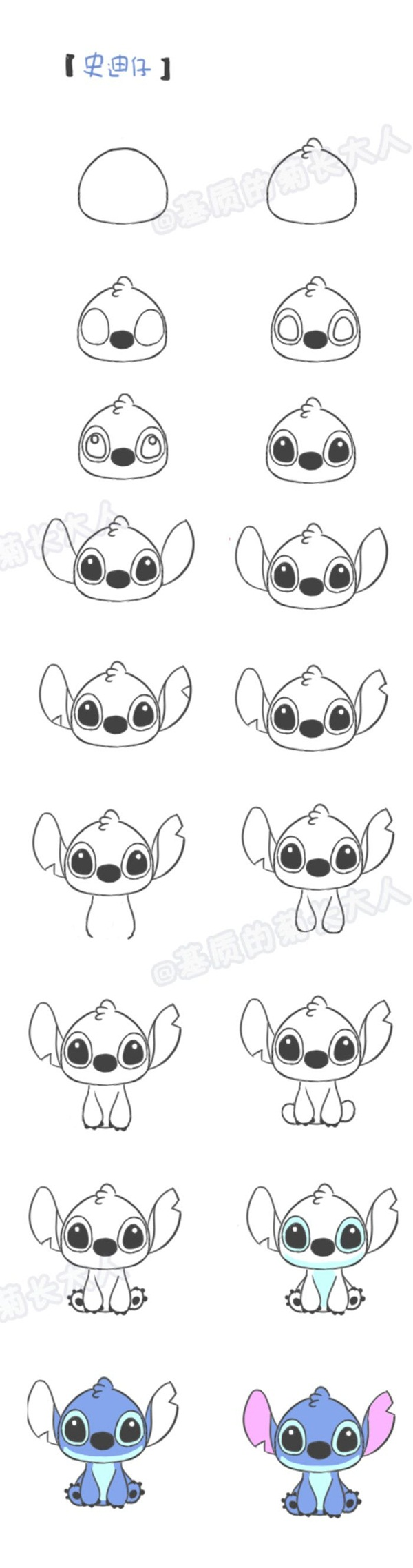 The creature from the pikachu is popular among all kids and is a must draw cartoon character
