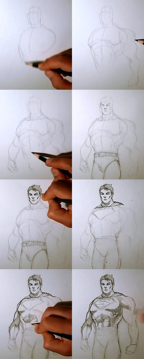 how to draw your own cartoon character step by step