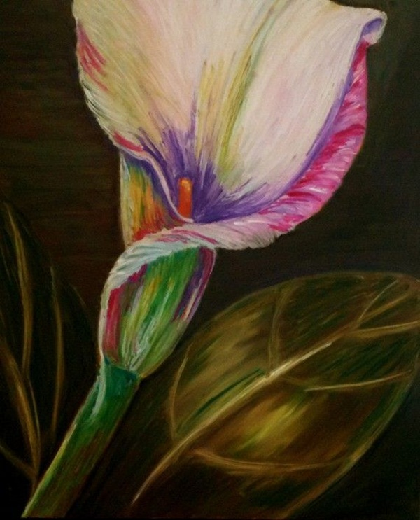 oil colour painting techniques pdf