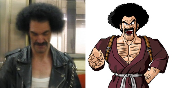 Reel-Life Cartoon Characters and their Real-Life Doppelgangers10