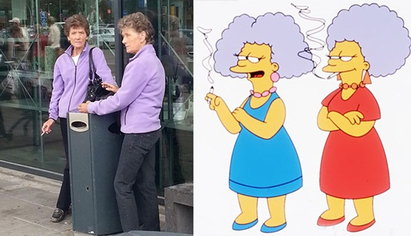 Reel-Life Cartoon Characters and their Real-Life Doppelgangers12