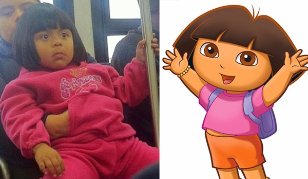Reel-Life Cartoon Characters and their Real-Life Doppelgangers15