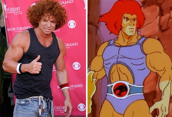 Reel-Life Cartoon Characters and their Real-Life Doppelgangers17