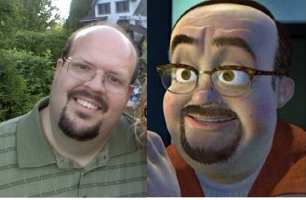 Reel-Life Cartoon Characters and their Real-Life Doppelgangers18