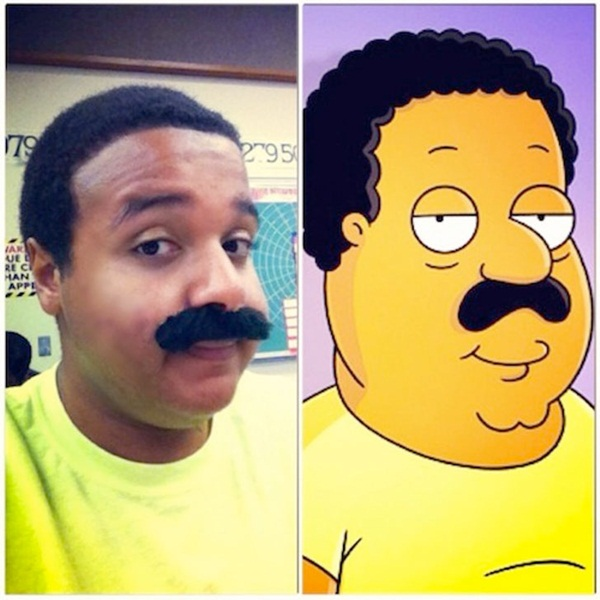 Reel-Life Cartoon Characters and their Real-Life Doppelgangers19