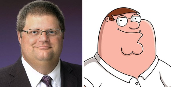Reel-Life Cartoon Characters and their Real-Life Doppelgangers5