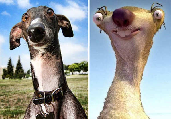 Reel-Life Cartoon Characters and their Real-Life Doppelgangers7