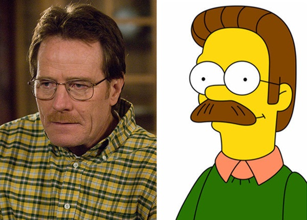 Reel-Life Cartoon Characters and their Real-Life Doppelgangers9