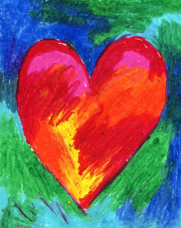 42 easy oil pastel drawings and painting ideas for Cool paintings easy