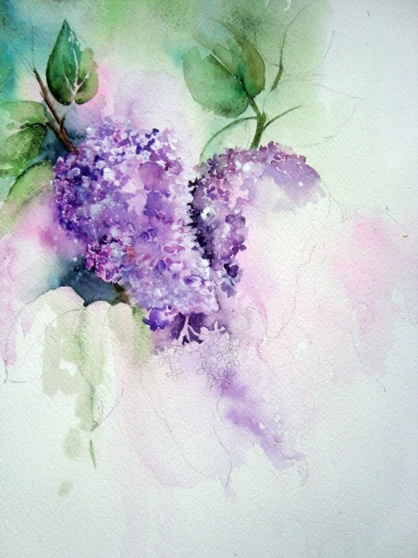80 easy watercolor painting ideas for beginners for How to watercolor for beginners
