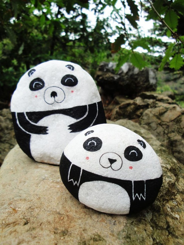 Thanksgiving Painted Rocks 45 Easy Rock Painting Ideas For Kids To Try