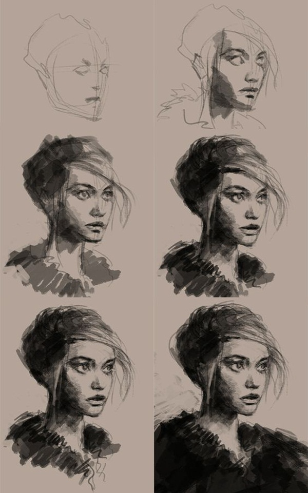42 Easy Charcoal Drawing Techniques and Ideas to try  42 Easy Charcoa...