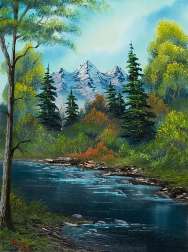 42 easy landscape painting ideas for beginners