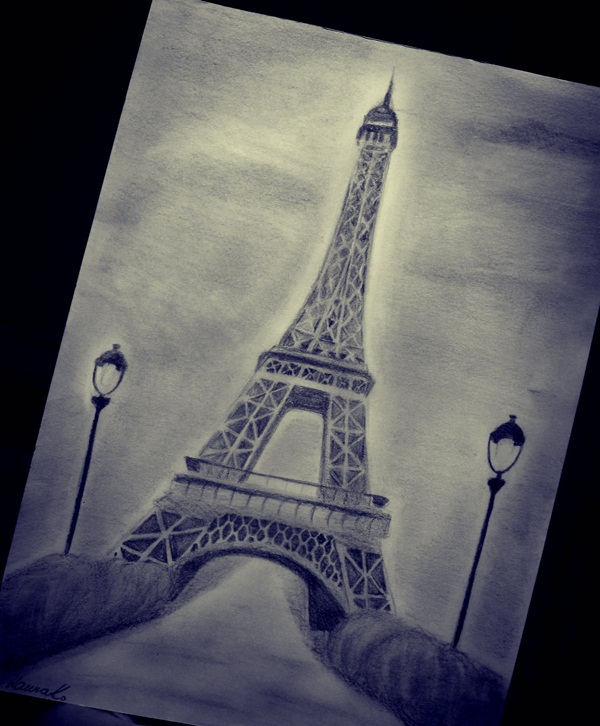 And 3D Eiffel Tower Drawing Sketches With Suitable Pictures Some Secret Tips Now Grab The Essentials Your Inner Artist To Make This Craft