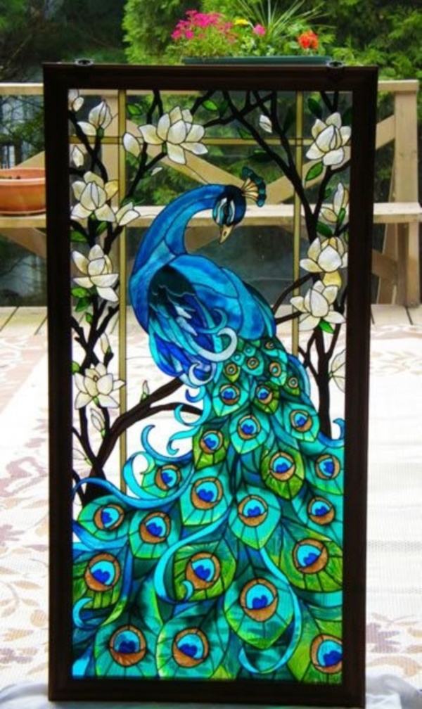 Glass Painting Ideas And Designs For