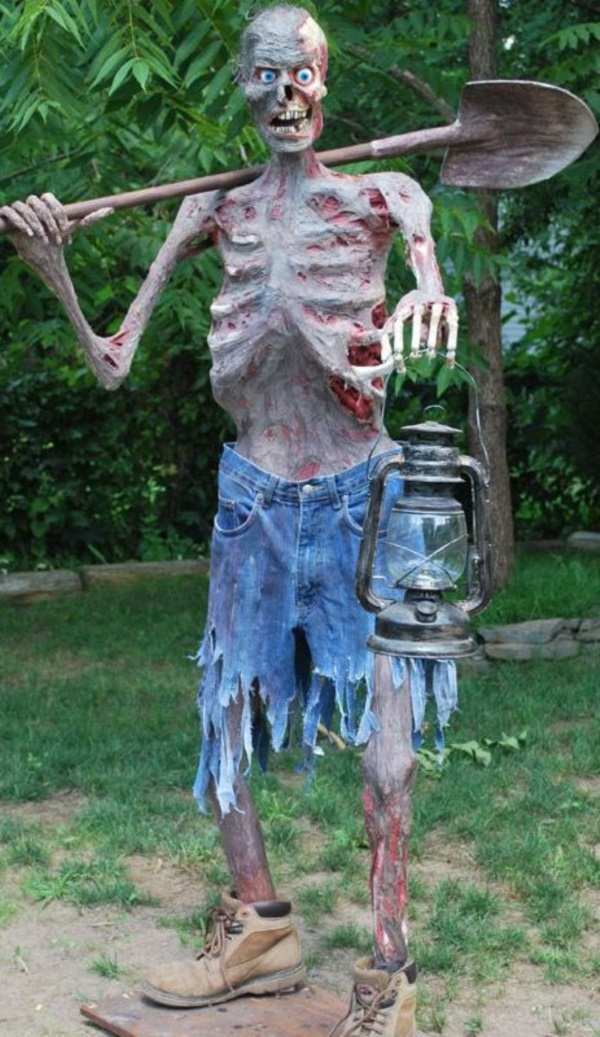 scary halloween decorations for outdoor party