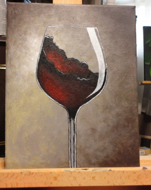 Simple-Acrylic-Canvas-Painting-Ideas-for-Beginners