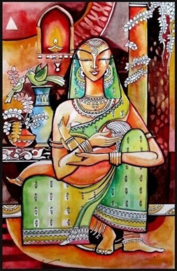 35 Easy Madhubani Art And Paintings For Beginners