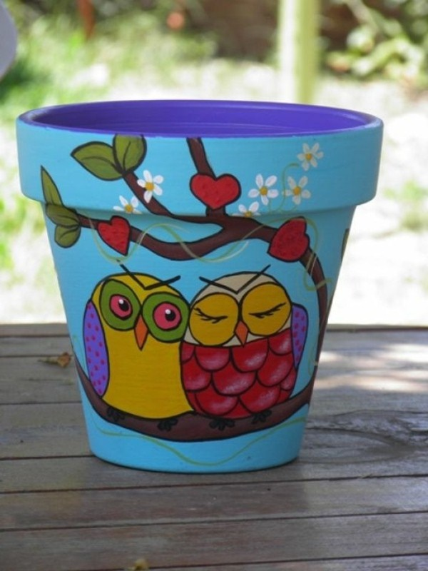 42 Beautiful Pottery Painting Ideas And Designs To Try