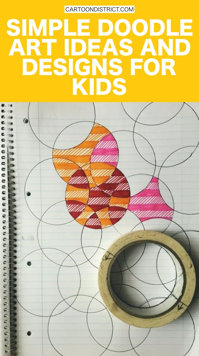 40 Simple Doodle Art Ideas and Designs for Kids