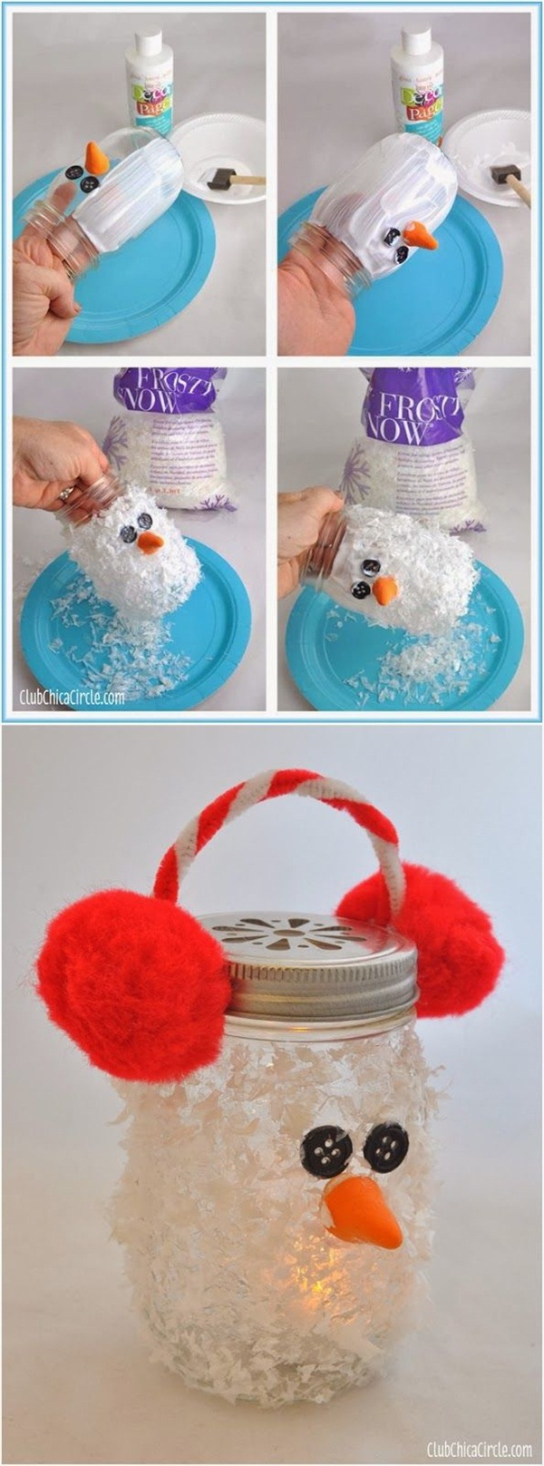 37 Super Easy DIY Christmas Crafts Ideas for Kids