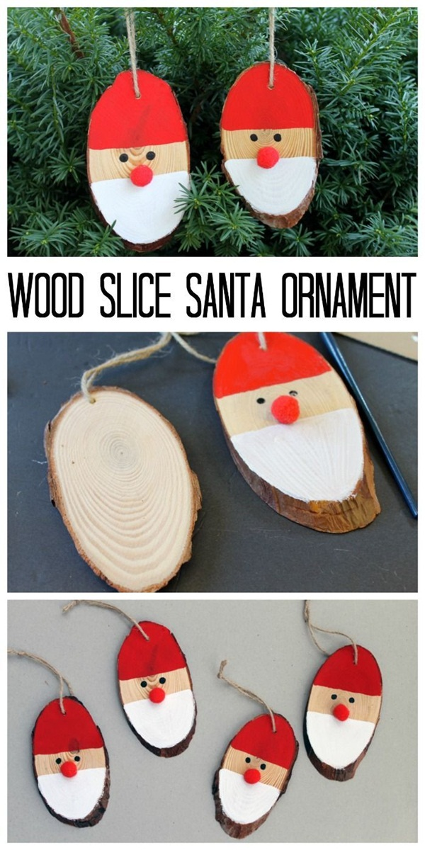 37 super easy diy christmas crafts ideas for kids for Homemade christmas ornaments for adults
