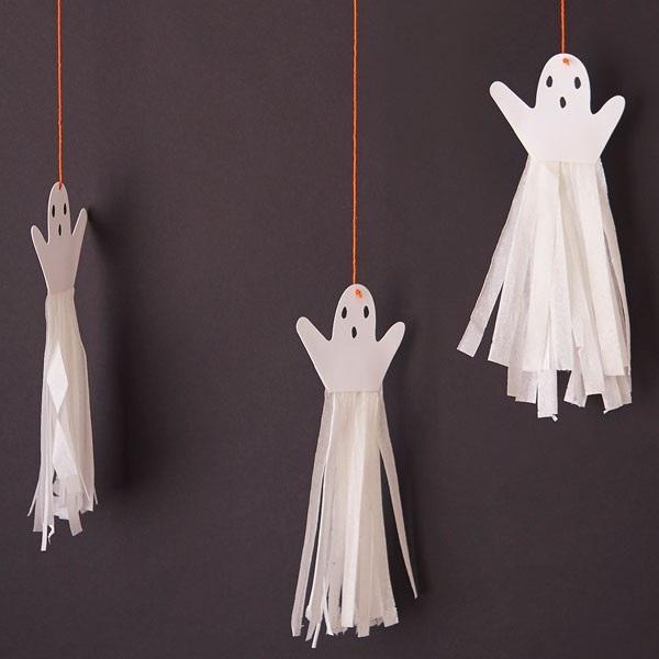 Quick Halloween Paper Crafts