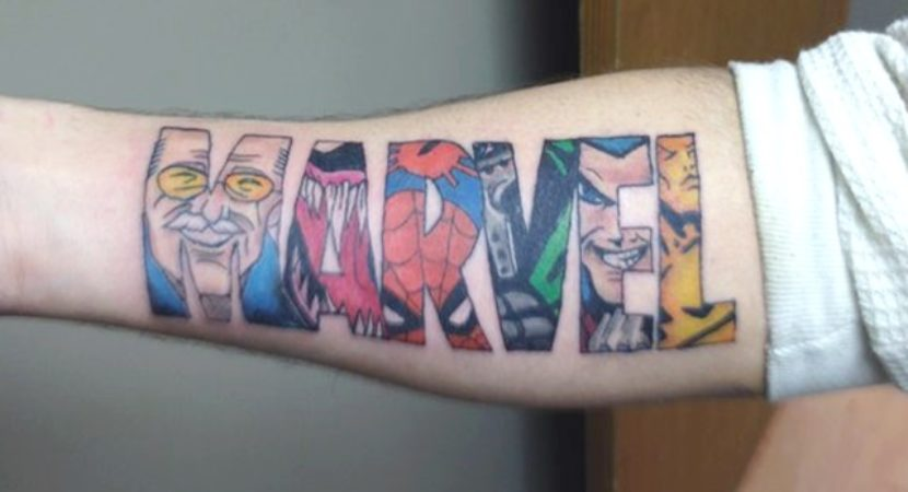 35 Marvel Superhero Tattoo Designs That Every Fan Should Try