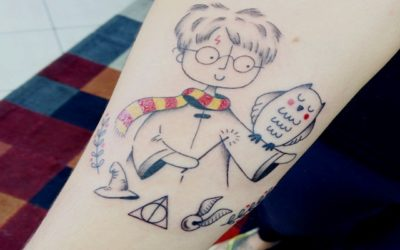 Cartoon district its cartoon time for Unique harry potter tattoos