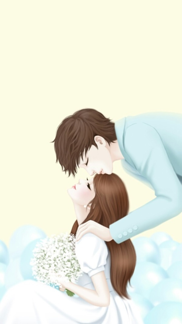 Cute Cartoon Couple Love Hd wallpapers for Valentines day  Cute Cartoon Love Couple Wallpaper