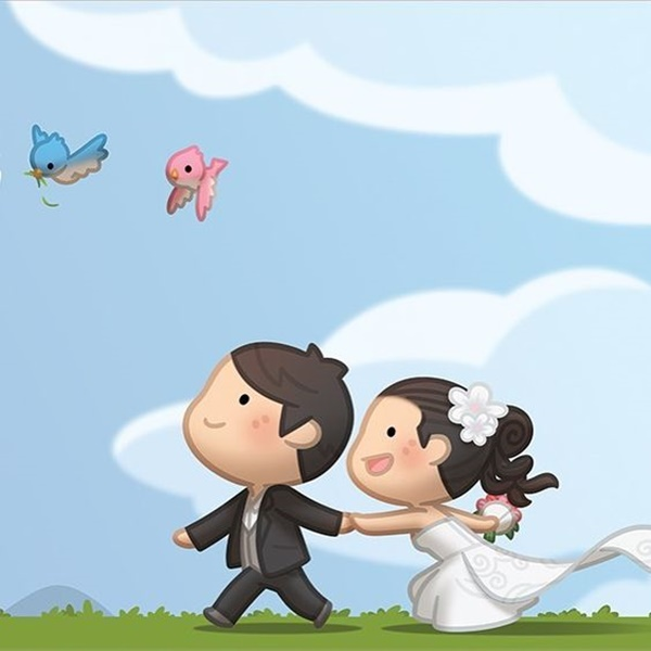 60 cute cartoon couple love images hd - Love cartoon hd ...