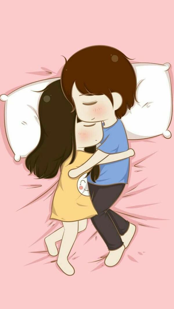 40 cute cartoon couple love images hd image source altavistaventures Choice Image