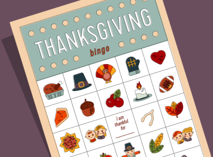 photo regarding Free Printable Thanksgiving Bingo Cards referred to as Absolutely free Printable Thanksgiving Bingo Playing cards for Small children and Older people