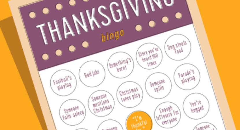 picture regarding Thanksgiving Bingo Printable referred to as Cost-free Printable Thanksgiving Bingo Playing cards for Small children and Grown ups