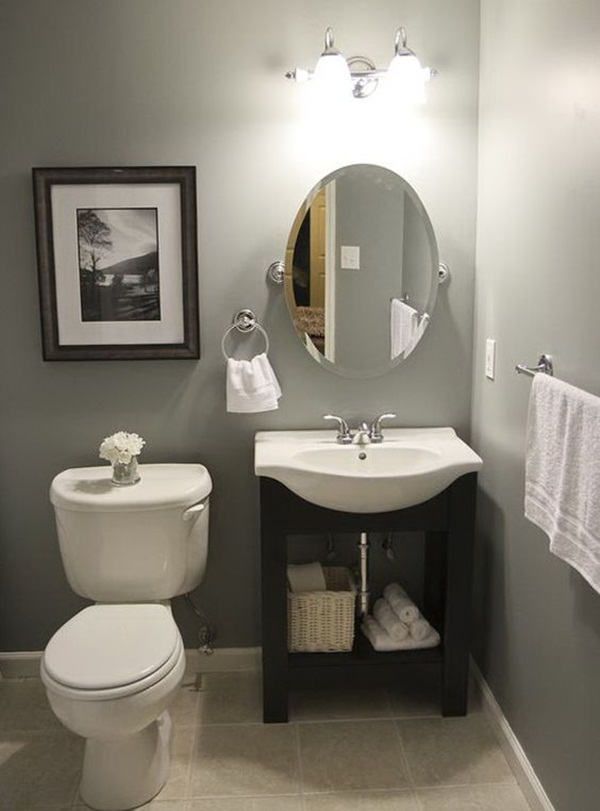 22 small bathroom ideas on a budget - Cheap bathroom ideas for small bathrooms ...