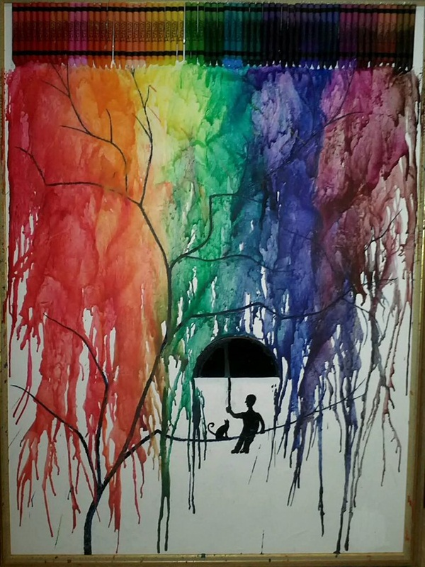 diy-melted-crayon-art-ideas-on-canvas