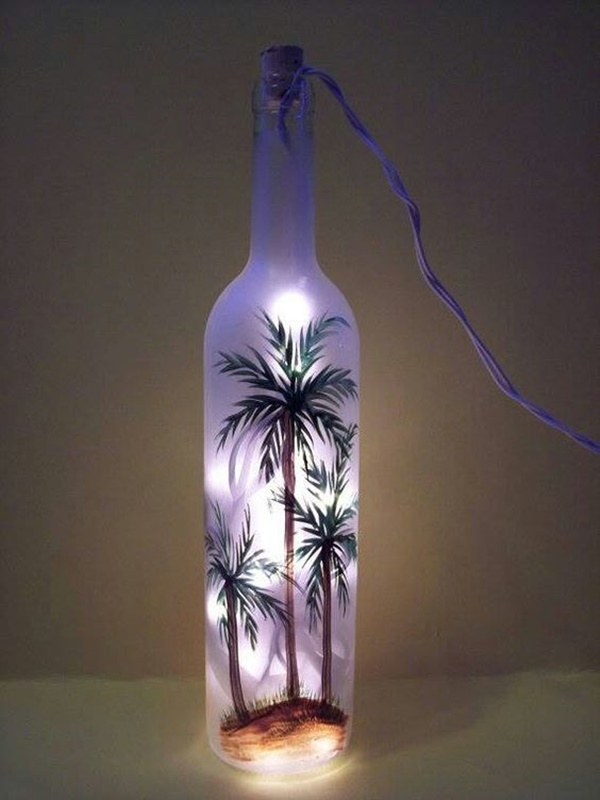 40 diy old wine bottle crafts to try for How to make wine bottle crafts