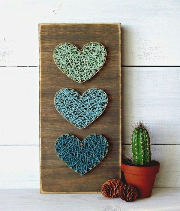 40 easy string art patterns and ideas for beginners. Black Bedroom Furniture Sets. Home Design Ideas