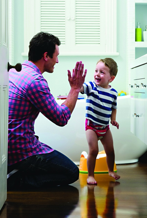 an overview of the potty training for the parents