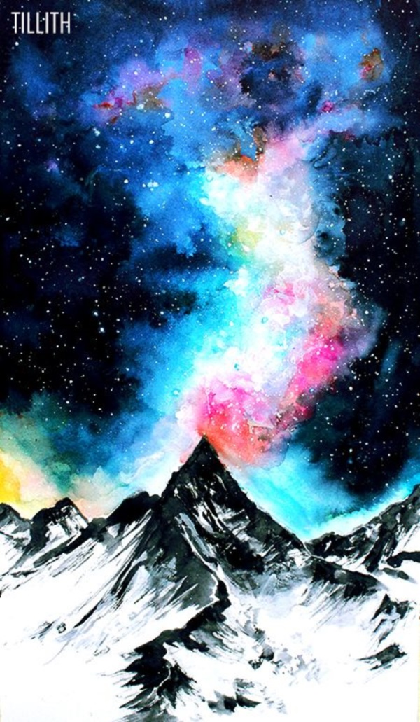 acrylic-galaxy-painting-ideas