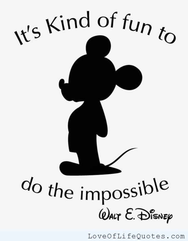 Inspirational Walt Disney Quotes And Sayings