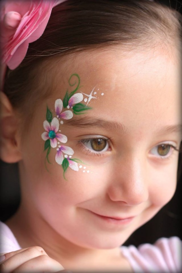 Simple Face Painting Ideas For Kids Cartoon District - Simple face painting