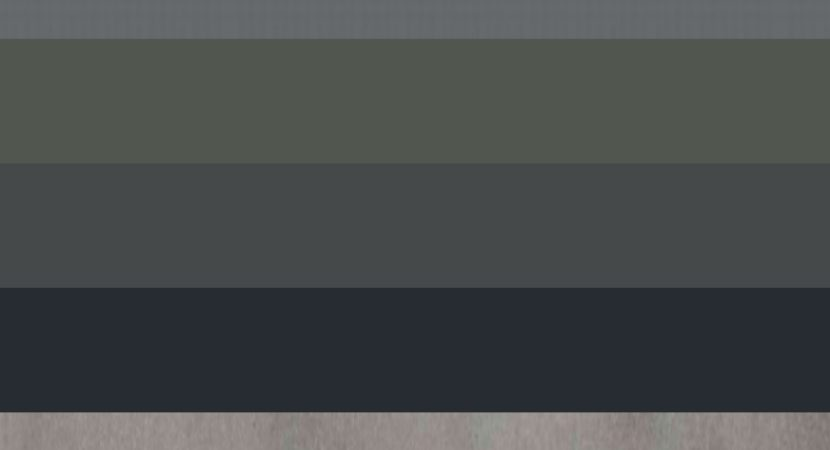Different Shades of Grey Color Names