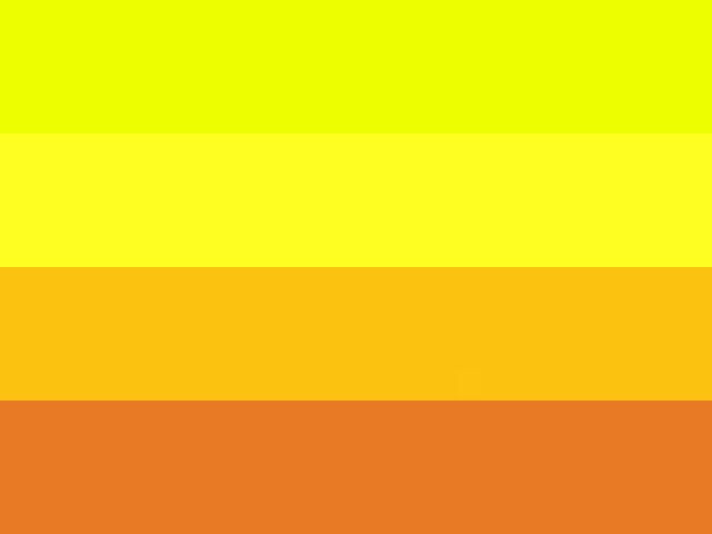 Different Shades of Yellow Color Names