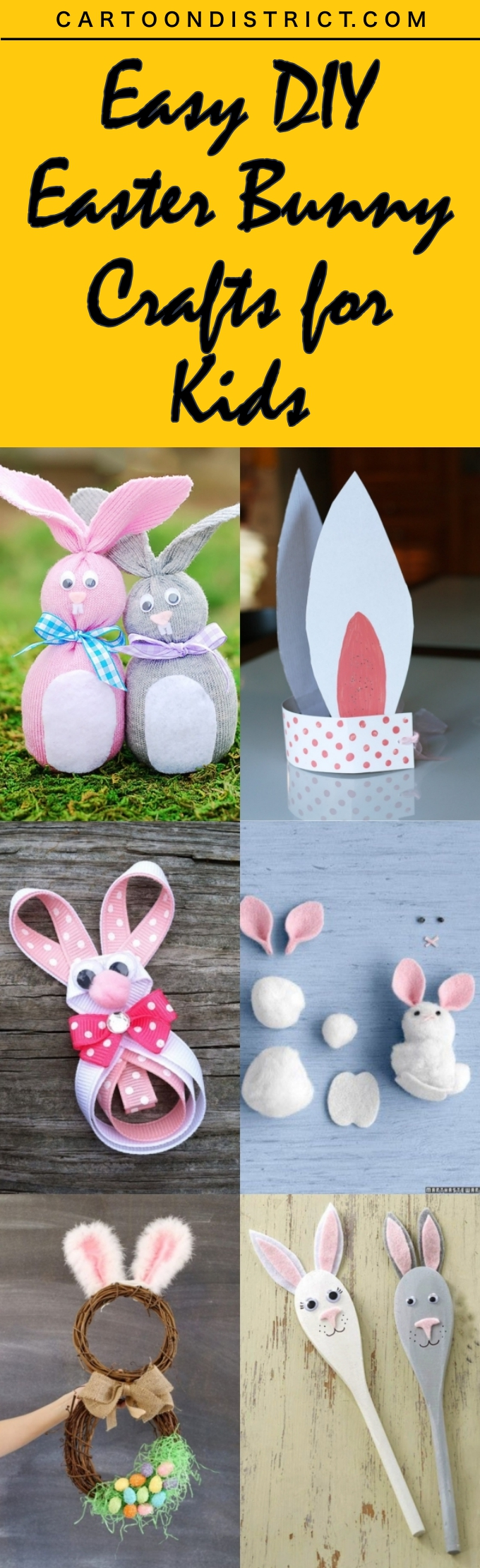 Easy DIY Easter Bunny Crafts for Kids