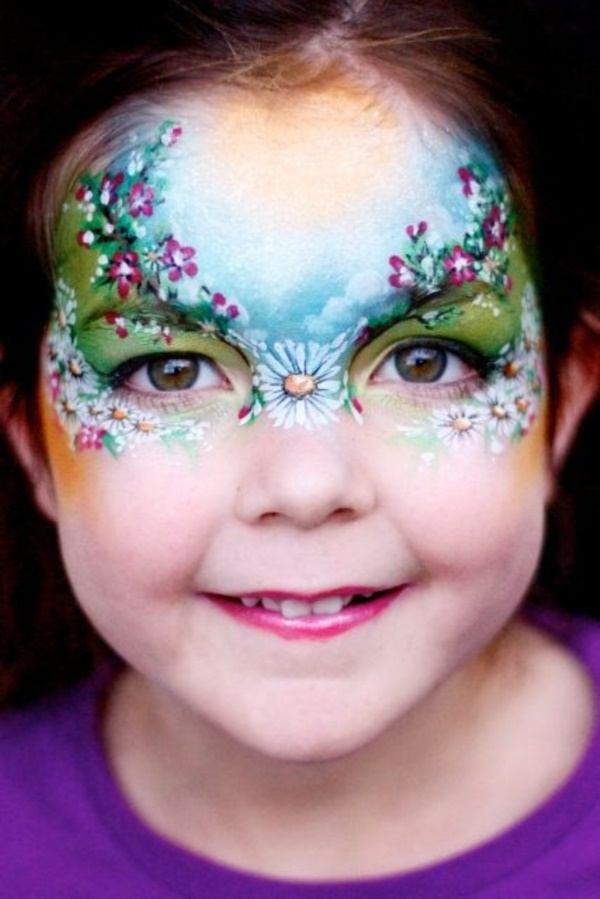 Simple Face Painting Ideas For Kids Cheeks