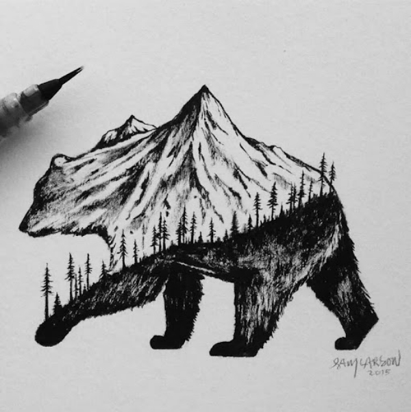 Easy whimsical drawing Ideas