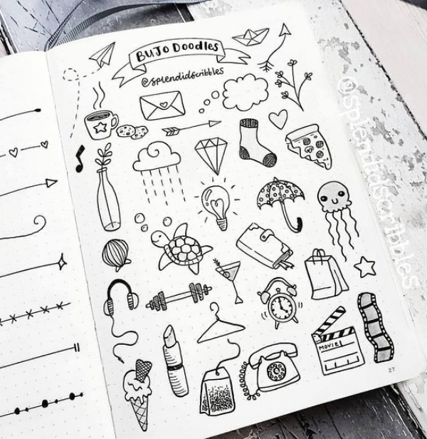 How to Draw Easy Doodles