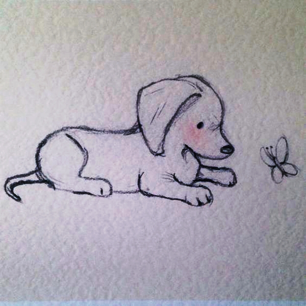Dog and a Fly: Cool and Easy Things to Draw when bored